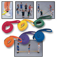 Aerobic Tinikling Cords - Pair Red on sale