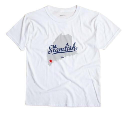 Standish Maine ME T-Shirt MAP