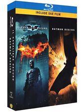 Il Cavaliere Oscuro / Batman Begins (3 Blu-Ray) COFANETTO NUOVO  SIGILLATO.