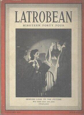 1944 Arnold Palmer Fred Mr Rogers Latrobe Pa Latrobean H S Yearbook Ebay