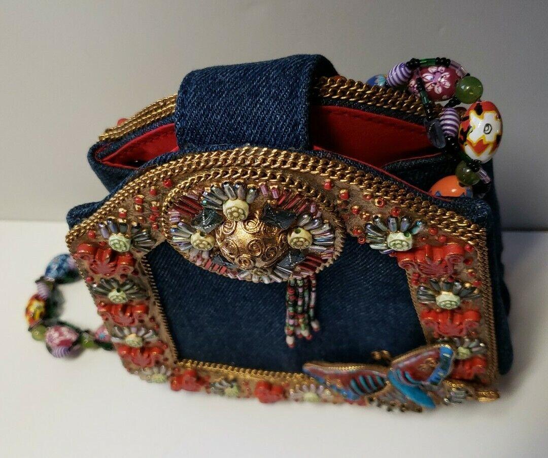 Mary Frances Butterfly Purse Handbag - image 5