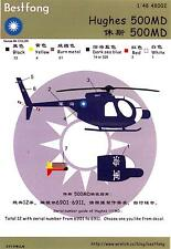 Bestfong Decals 1/48 HUGHES 500MD Helicopter Republic of China Navy
