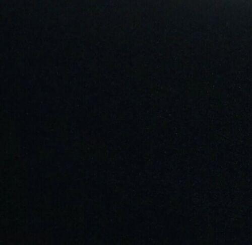 95x90 cm Velvet WRAP Black Suede Adhesive Film Velvet Black Furniture Foil ca