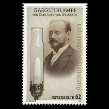 Austria 2012 - Gas bulb Carl Auer von Welsbach Science - Sc 2405 MNH