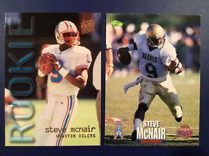 1995-Classic-Draft-69-Fleer-Ultra-435-STEVE-MCNAIR-ROOKIE-Lot-Houston-Oilers