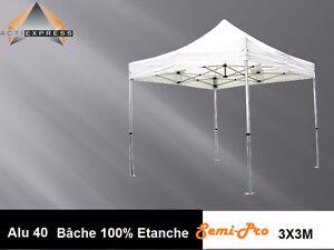 tente pliante tonnelle barnum 3x3 aluminium pro chapiteau. Black Bedroom Furniture Sets. Home Design Ideas