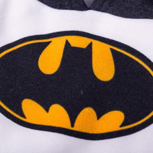 Baby Mädchen Jungen Batman Kapuze Pullover Hose Sets Trainingsanzug Strampler