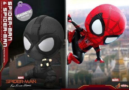 Hot Toys COSB634 Spider-Man/&Sneak Spider-Man Far From Home COSBABY Figure Toys