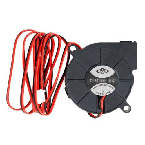 24V Brushless DC Cooling Turbine Blower Fan 5015 50*62*15mm Durable New
