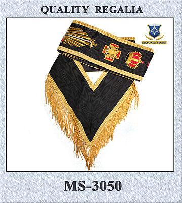 SASH  Hand Embroidery Masonic 30 Degree A.A.S.R