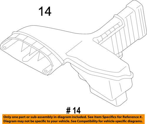 KIA OEM 11-15 Optima Air Cleaner Intake-Inlet Duct Tube Hose 282102T110