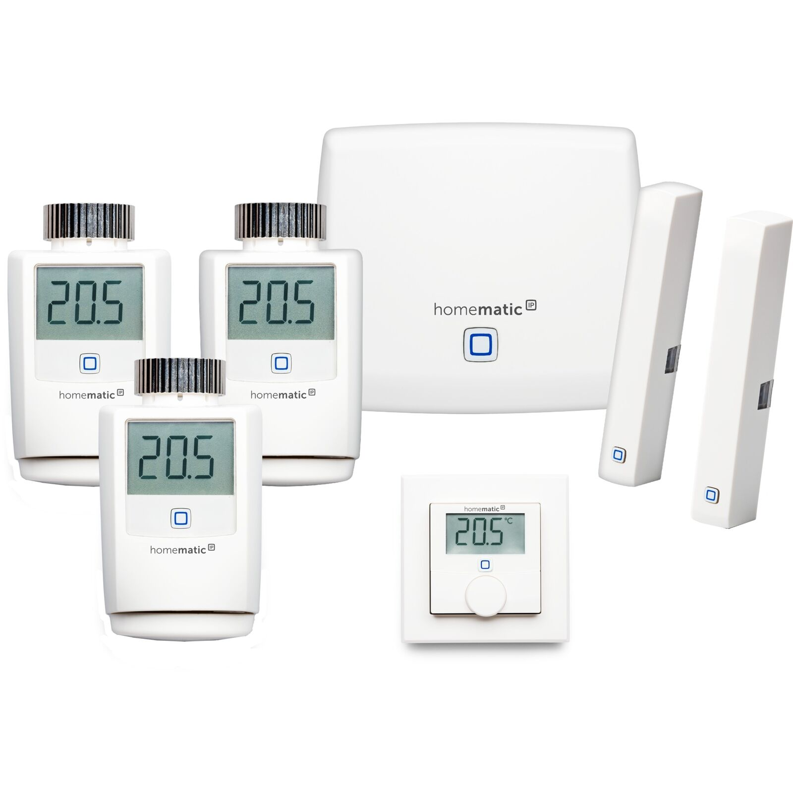 Homematic IP Starterset Raumklima XL, Komplettpaket