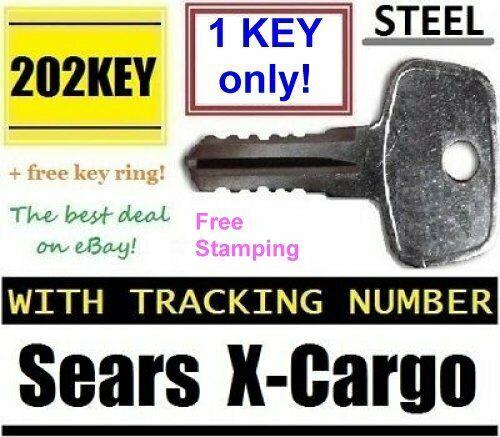 SEARS X-CARGO Roof Rack KEY Karrite Ski Bike xcargo Carrier Skyline Sportrack XL