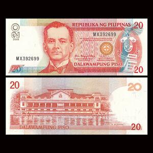 Philippines 20 Piso, 2008, P-182j, UNC, Banknotes