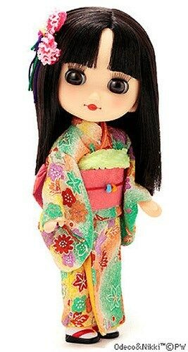 PETWORKS ODECO Chan & Nikki Hatsuharu no ODECO Chan sólo sólo sólo con Kimono niña  Centro comercial profesional integrado en línea.