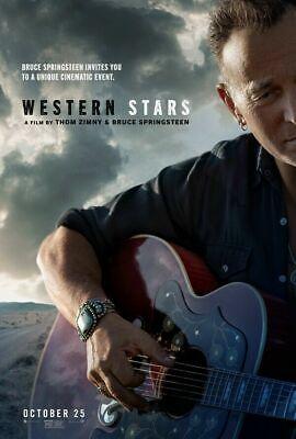 Western Stars Bruce Springsteen Music Movie Silk Canvas Poster Print 24x36 inch