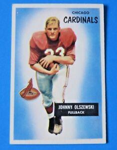 1955-BOWMAN-JOHNNY-OLSZEWSKI-FOOTBALL-CARD-3-EX