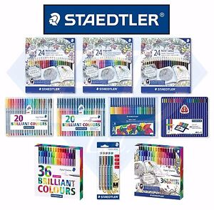 STAEDTLER-Stationary-Pens-Colouring-Pencils-Felt-Tips-Metallic-Markers