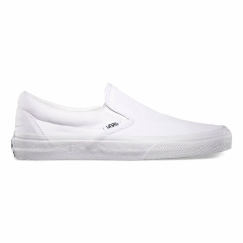 Vans Slip On True White Canvas Classic Shoes All Size Fast Shipping by Vans