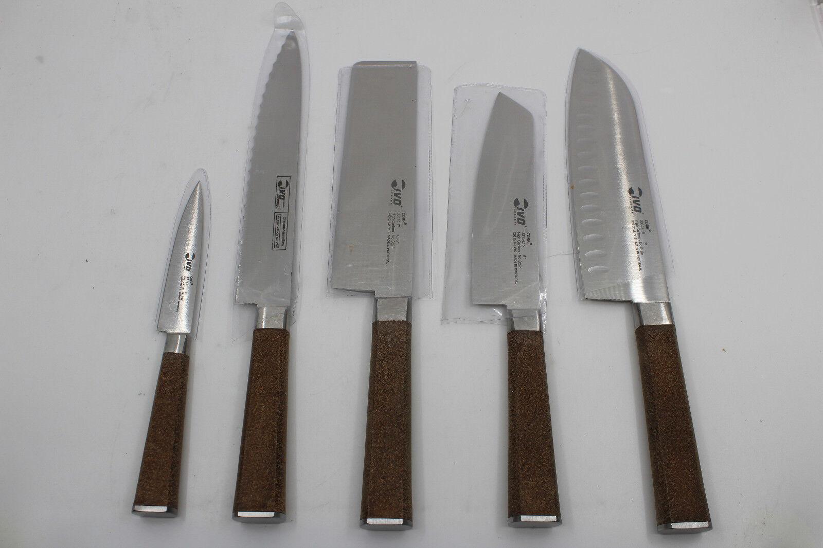 Ivo cutelarias 5 Pièces Couteau Set adapté au lave-vaisselle NEUF
