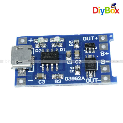 WeMos D1 Mini Shield 5PCS 5V Micro USB 1A 18650 Lithium Battery Charging Board