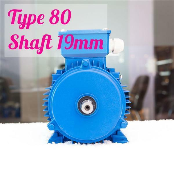 0.75kw 1HP 2800rpm shaft 19mm Electric motor Three-phase 415v compressor Pump