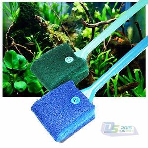 New-Aquarium-Fish-Tank-Blue-Sponge-Cleaning-Brush-Cleaner-Scrubber-Algae-Remover