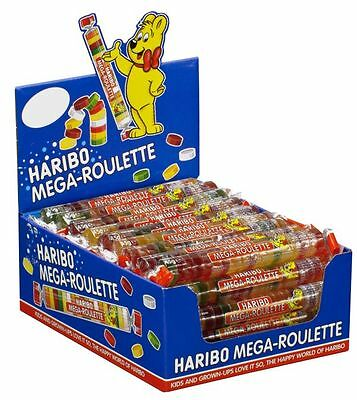 Haribo Mega Roulette Gummis 24 Count Case Popular German Candy Free Shipping Ebay