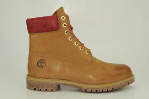 Timberland-6-Inch-Premium-Boots-Waterproof-Stiefel-Herren-Schnuerschuhe-A244Z