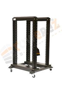 19-pouces-open-serveur-armoires-18U-double-cadre-600-w-x-600-d-x-1000-h