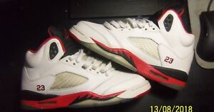 separation shoes 2b426 29297 Details about Fire Red 5s (Black Tongue) size 7