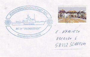GERMAN-PATROL-SHIP-DUDERSTADT-BG-14-A-SHIPS-CACHED-COVER