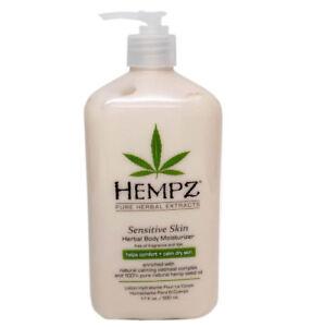 Hempz-Sensitive-Skin-Herbal-Body-Moisturizer-Lotion-17oz