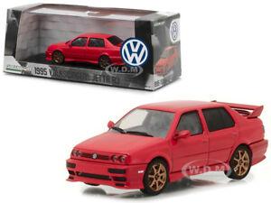 1995 Volkswagen Jetta A3 Red 1 43 Diecast Model Car By Greenlight