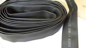 SCHRUMPFSCHLAU<wbr/>CH INDUSTRIE D=25,4mm BLACK 5,0m   14217