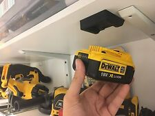 FIVE Black DeWALT XR BATTERY MOUNT for Brushless Multi Tool MultiTool Batteries