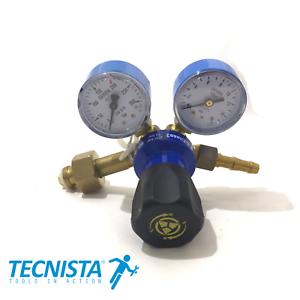 Riduttore di Pressione Ossigeno MINI per brasatura saldatura taglio con cannello