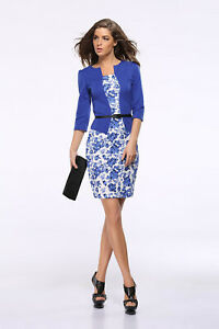 New-Women-Formal-Business-Work-Stretch-Cocktail-Evening-Party-Slim-Pencil-Dress
