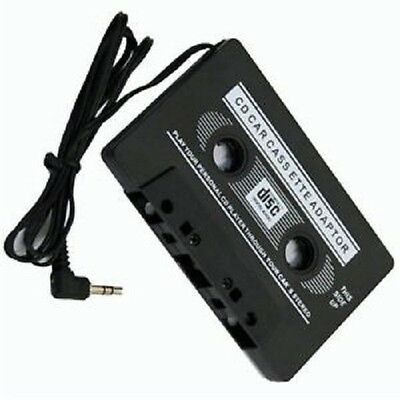 Car Audio Tape Cassette Adapter For Iphone Ipod MPS Radio Nano 3.5mm JACK AUX