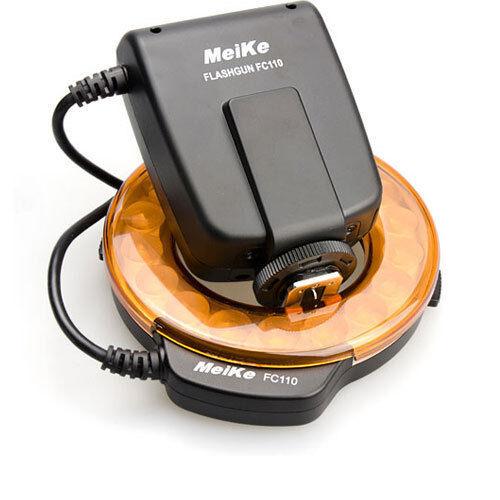 Meike FC-110 LED Macro Ring Flash/Light Nikon D7000 D5200 D5100 D3200 D800 D600