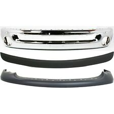 55077946ab 55077342ac 5073002ac New Set Of 3 Front Chrome For Ram Truck 1500 Fits 2005 Dodge Ram 1500