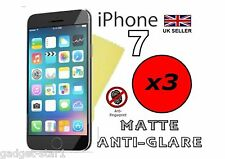 3x HQ mate antirreflejo FUNDA PROTECTORA PARA APPLE IPHONE 7 2016