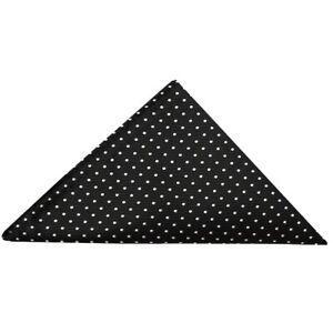 TIES-R-US-Black-and-White-polka-dot-Pocket-Square-Handkerchief-Hanky-Wedding