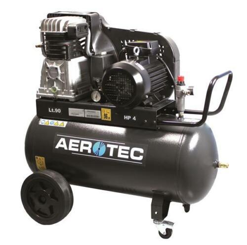 Aerotec 650-90 Kompressor 15 bar Liefert 310//l min Handwerkerkompressor fahrbar