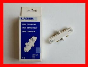 detailed look 8ee87 67e8e Details about HALO LAZER TRACK LIGHTING MINI CONNECTOR LZR212P NEW - WHITE
