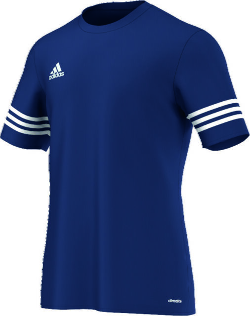 adidas Entrada 14 Short Sleeve Jersey Kids Dark Blue 164