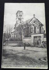 Carte Photo 1914-1918 Sillery Marne bombardement 1916 WW1 French postcard Marne