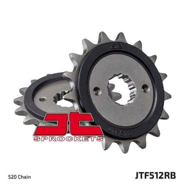 Piñón Con Goma Delantero JTF512.17RB pour Kawasaki KLE500 A7-A14 1997-2005