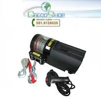 Verricello/Argano/Paranco elettrico 12V 4500 lbs con telecomando