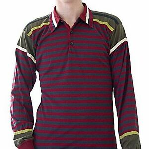 Paul-Smith-t-shirt-polo-patch-righine-SIZE-XL